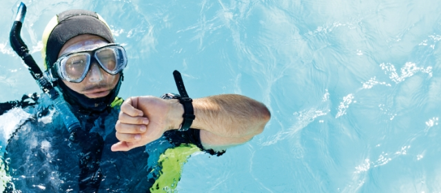 Plavecké dioptrické brýle